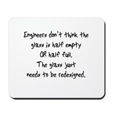 Engineers Glass Mousepad