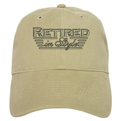 Retired In Style Baseball Cap