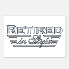 Retired In Style Postcards (Package of 8)