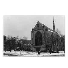 Cute Chicago winter Postcards (Package of 8)
