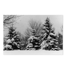 Cute Chicago christmas Postcards (Package of 8)