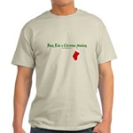 Hung Like a Christmas Stocking Light T-Shirt