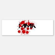 MMA Blood Splatter 01 Bumper Bumper Bumper Sticker