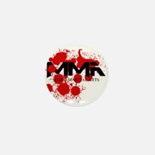 MMA Blood Splatter 01 Mini Button