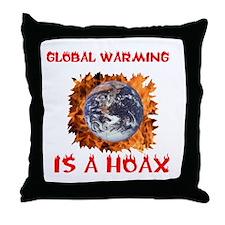 AL GORE'S BIGGEST HOAX Throw Pillow