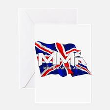 MMA UK Flag Greeting Card