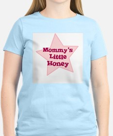 Mommy's Little Honey Women's Pink T-Shirt