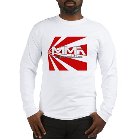 MMA Rising Sun Long Sleeve T-Shirt