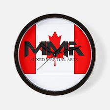 MMA Canada Wall Clock