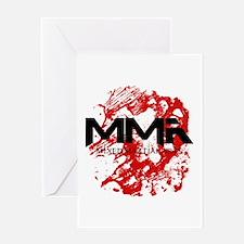 MMA Blood 3 Greeting Card