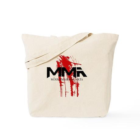 MMA Blood Splatter 06 Tote Bag
