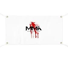 MMA Blood Splatter 06 Banner