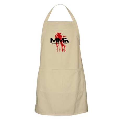 MMA Blood Splatter 06 Apron