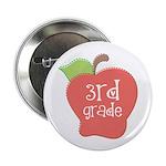 """Apple Third Grade 2.25"""" Button (10 pack)"""