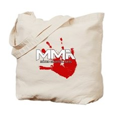 MMA Bloody Handprint 01 Tote Bag