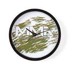 MMA Camo Wall Clock