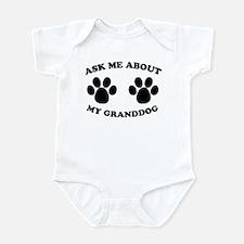 Ask About Granddog Infant Bodysuit