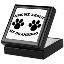 Ask About Granddog Keepsake Box
