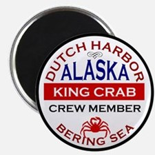 Dutch Harbor Bering Sea Crab Fishing Magnet