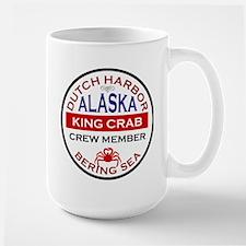 Dutch Harbor Bering Sea Crab Fishing Large Mug