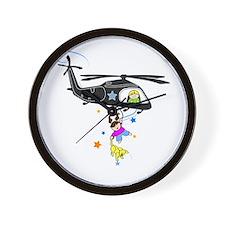 Funny Army black hawk Wall Clock