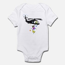 kids black hawk Body Suit