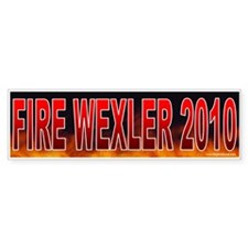 Fire Robert Wexler (sticker)