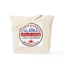 Dutch Harbor Bering Sea Crab Fishing Tote Bag