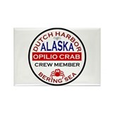 Alaskan crab Magnets