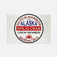 Dutch Harbor Bering Sea Crab Fishing Rectangle Mag
