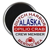 Alaskan crab Magnets