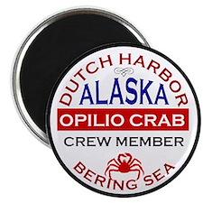 Dutch Harbor Bering Sea Crab Fishing Magnet