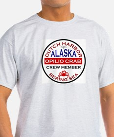 Dutch Harbor Bering Sea Crab Fishing T-Shirt