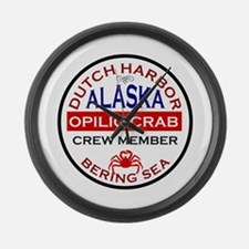 Dutch Harbor Bering Sea Crab Fishing Large Wall Cl