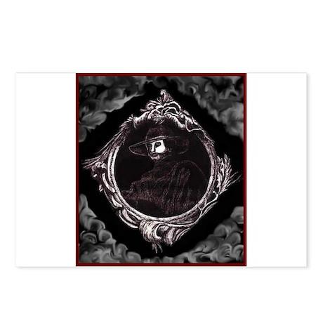 Phantom (Grey) ~ Postcards (Package of 8)