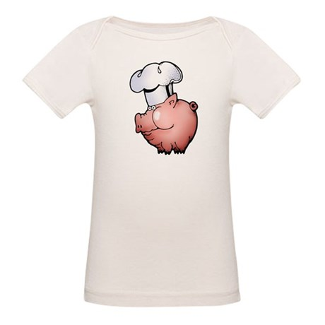 Chef Pig Organic Baby T-Shirt