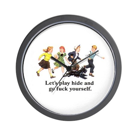 Let's Play Wall Clock
