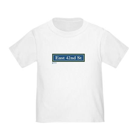 East 42nd Street in NY Toddler T-Shirt