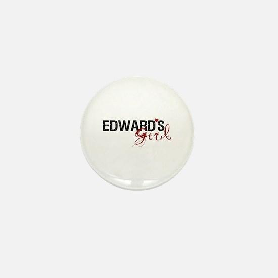 Edward's Girl Mini Button