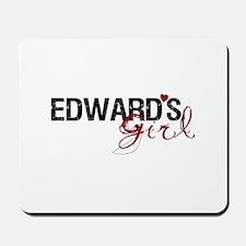 Edward's Girl Mousepad