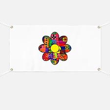 Sixties Flower Banner
