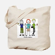 Cute Three Tote Bag