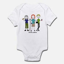 Cute Three sisters Infant Bodysuit