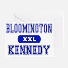 Bloomington Kennedy Greeting Card