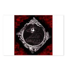 Phantom (Red) ~ Postcards (Package of 8)