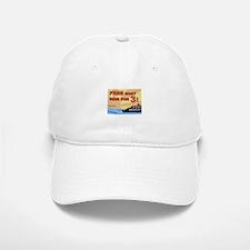 Free Boat Ride for 3! Baseball Baseball Cap