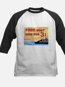 Free Boat Ride for 3! Kids Baseball Jersey