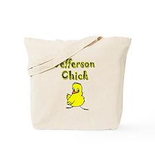 Jefferson Chick Tote Bag