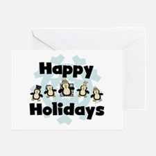 Penguin Happy Holidays Greeting Card