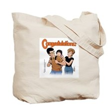Cute Funky winkerbean Tote Bag